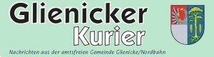 Logo Glienicker Kurier
